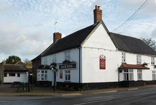 Picture 1. Black Horse, Thetford, Norfolk