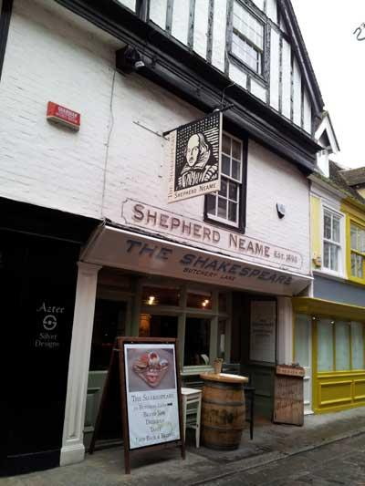 Picture 1. The Shakespeare, Canterbury, Kent