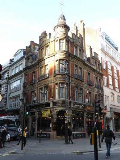 Picture 1. St James Tavern, Soho, Central London