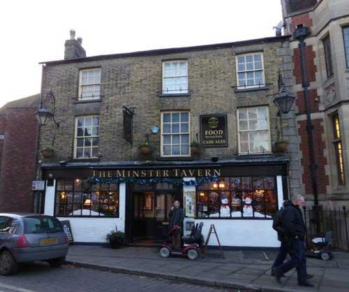 Picture 1. Minster Tavern, Ely, Cambridgeshire