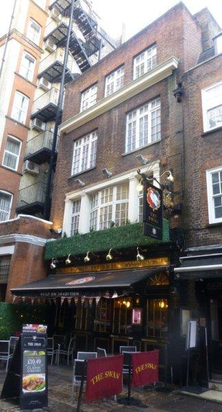Picture 1. Swan, Bloomsbury, Central London