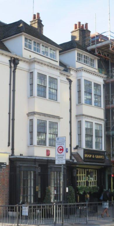 Picture 1. Hoop & Grapes, Aldgate, Central London