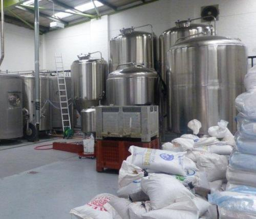 Picture 1. Fourpure Brewing Co., Bermondsey, Central London