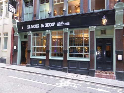 Picture 1. Hack & Hop, Blackfriars, Central London