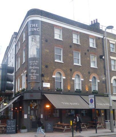 Picture 1. The Ring, Southwark, Central London