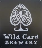 The pub sign. Wild Card Brewery, Walthamstow, Greater London