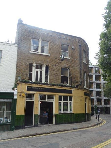 Picture 1. Three Kings, Clerkenwell, Central London