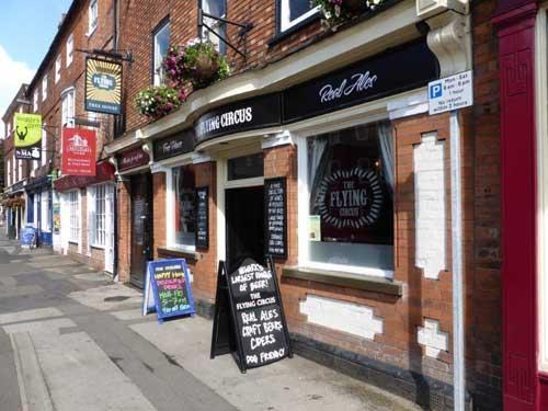 Picture 1. The Flying Circus, Newark, Nottinghamshire