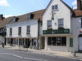 Picture 1. The West Gate Inn, Canterbury, Kent
