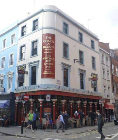 Picture 1. The Coach & Horses, Soho, Central London