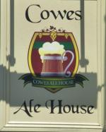 The pub sign. Cowes Ale House, Cowes, Isle of Wight