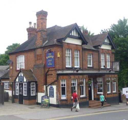 Picture 1. The Railway, Billericay, Essex