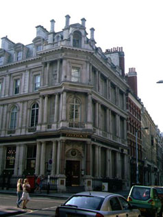 Picture 1. The Knights Templar, Chancery Lane, Central London