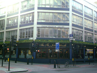 Picture 1. The Sir John Oldcastle, Farringdon, Central London