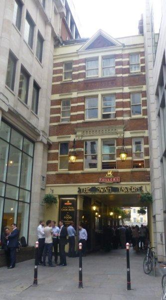 Picture 1. The Swan Tavern, City, Central London