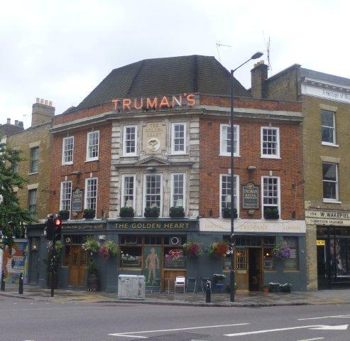 Picture 1. The Golden Heart, Spitalfields, Central London
