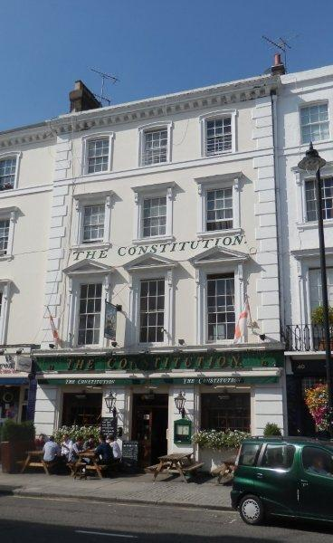 Picture 1. The Constitution, Pimlico, Central London