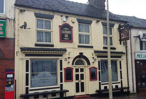 Picture 1. Coachmakers Arms, Hanley, Staffordshire