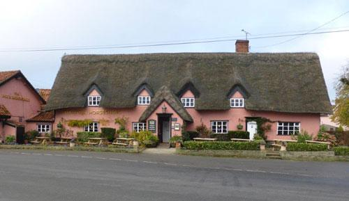 Picture 1. Four Horseshoes, Thornham Magna, Suffolk