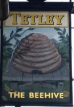 The pub sign. Beehive, Harthill, South Yorkshire