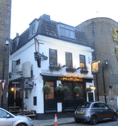 Picture 1. The Mayflower, Rotherhithe, Greater London
