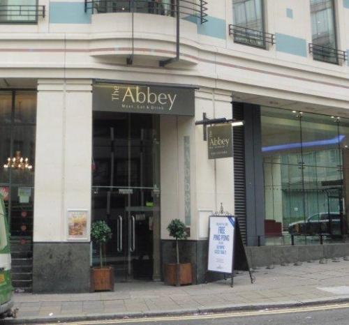 Picture 1. Low Slow & Juke (formerly The Abbey), Westminster, Central London
