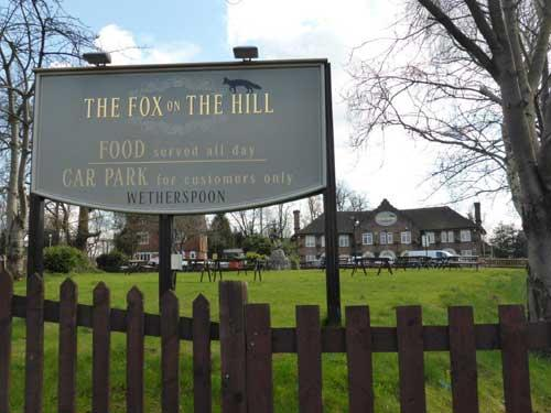 Picture 2. The Fox on the Hill, Denmark Hill, Greater London