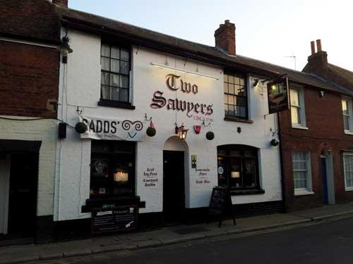 Picture 1. Two Sawyers, Canterbury, Kent