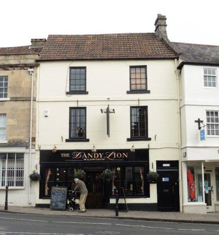Picture 1. The Dandy Lion, Bradford-on-Avon, Wiltshire