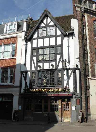 Picture 1. Masons Arms, Mayfair, Central London