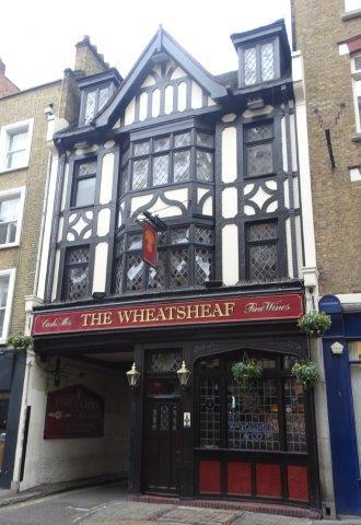 Picture 1. The Wheatsheaf, Fitzrovia, Central London