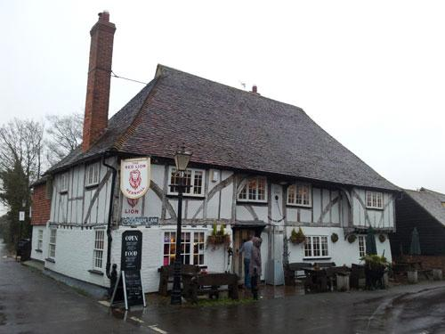 Picture 1. The Red Lion, Hernhill, Kent
