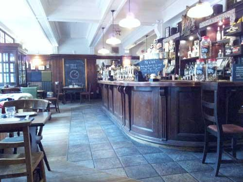 Picture 2. The Somers Town Coffee House, Euston, Central London
