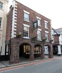 Picture 1. The Pied Bull, Chester, Cheshire