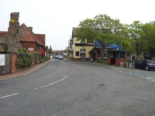 Picture 1. The Royal Oak & Castle, Pevensey, East Sussex