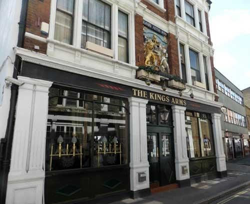 Picture 1. The Kings Arms, Borough, Central London