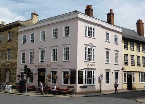 Picture 1. Kings Arms, Oxford, Oxfordshire