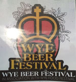 The pub sign. Wye Beer Festival 2015, Wye, Kent