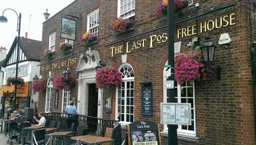 Picture 1. The Last Post, Loughton, Greater London