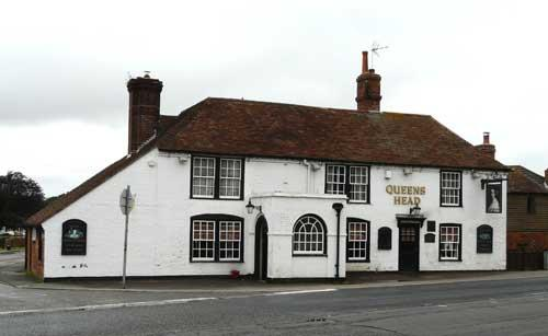 Picture 1. Queens Head, Kingsnorth, Kent