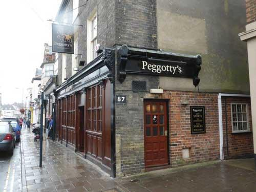 Picture 1. Peggotty's, Great Yarmouth, Norfolk