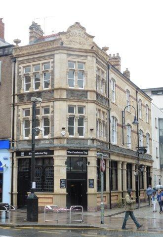 Picture 1. The Cambrian Tap, Cardiff, Glamorgan