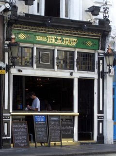Picture 1. The Harp, Charing Cross, Central London