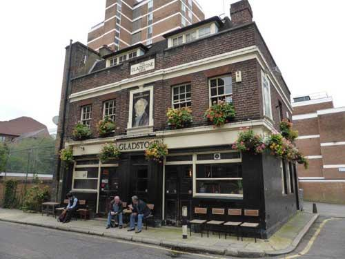 Picture 1. The Gladstone Arms, Borough, Central London