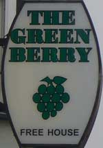 The pub sign. The Berry, Walmer, Kent