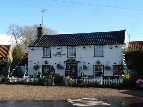 Picture 1. The Greyhound Inn, Hickling Green, Norfolk