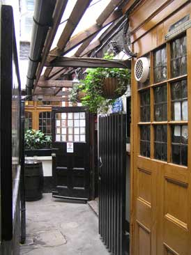 Picture 1. Ye Olde Mitre, Holborn, Central London