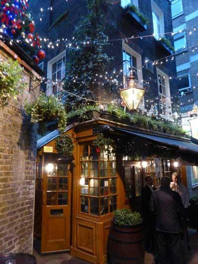 Picture 2. Ye Olde Mitre, Holborn, Central London