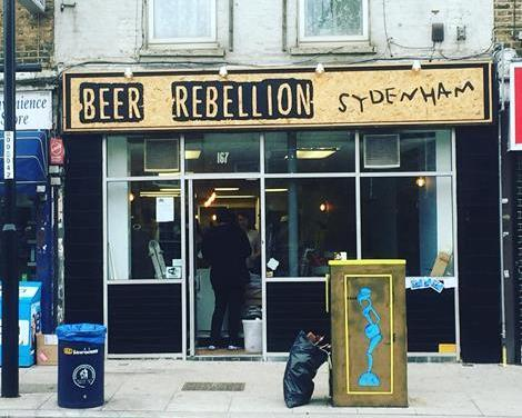 Picture 1. Beer Rebellion, Sydenham, Greater London