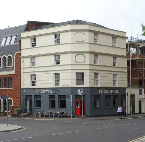 Picture 1. The Greyfriar of Reading, Reading, Berkshire